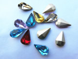 Factory Wholesale Teardrop Crystal with Silver Plating