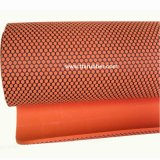 Orange Color Nature Rubber Yoga Mat