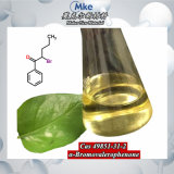 Raw Material 2-Bromo-1-Phenyl-Pentan-1-One CAS 49851-31-2 Yellow Liquid Valerophenone CAS 1009-14-9 with Best Quality