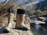 Various Men Rubber Rain Boots, Men Camo Rubber Boot, Camo Rubber Boot