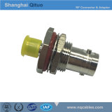 RF Connector Adaptor BNC Female Jack to SMA Female Jack End-Tooth