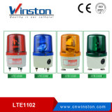 LTE-1102j DC 12V 24V Decibel Alarm Red LED Bulb Revolving Light Rotary Warning Light for Machines