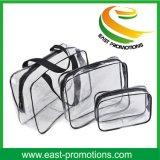 PVC Makeup Cosmetic Handbags Clear Waterproof Beach Bag for Travel