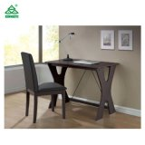 Factory Price Wood Material Writing Table with Chairs