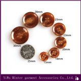 Garment Accessories Resin Trousers Urea Button & Mirror Face & Ox Horn Button for Clothing