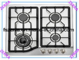 580mm Length Stainless Steel Panel Built-in Gas Hob Home Kitchen (JZS4512)