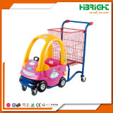 Supermarket Child Shopping Trolley Cart with Toys