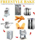 Full-Auto Finger Bread / Oval Bread / Biscuit / Croissant / Toast / Baguette / Food Production Line