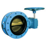 Flanged Type Butterfly Valve with Gear Operator