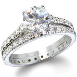 925 Silver Cubic Zirconia Engagement Rings