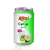 330ml Canned Coconut Water with Juice-Vietnam Manufacturer-OEM Fruit Juice-From Rita Brand