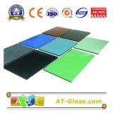 Tinted Reflective Float Glass/ Coated Glass/Dark Blue/Drak Green/Bronze.