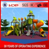 Multi-Function Children Toys, Large Plastic Slide Castle Outdoor Playground HD16-067A