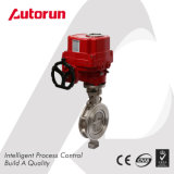 Explosion Proof Electrical Triple Eccentric Butterfly Valve