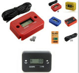 LCD Display Waterproof Electronic Timers / Induction Type Engine Hour Meter