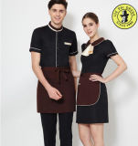 Tailored Western Hotel Uniform Dress with Apron