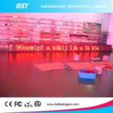 P7.62 Red Color Indoor LED Moving Message Display