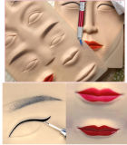 New Arrival 3D Eyebrow Tattoo Practice Skin with Eyes Lip Mixed Training Skins Pad for Microblading