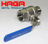 Stainless Steel CF8m Female Male Threaded 2PC Ball Vlave