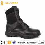 2017 Black Genuine Leather Military Army Police Tactiacl Boot