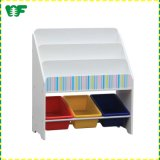 Environmental Protection Wooden Large Kids Book Shelf