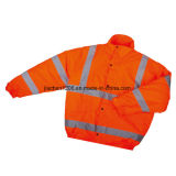 Warning Water-Proof Warm Reflective Satety Coat