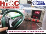 Headphones Inspection Service/Quality Control/3rd Inspection Service