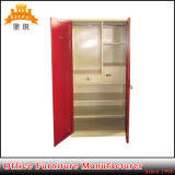 Bas-071 India Market Steel Two Door Wardobe Clothes Almirah