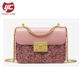 Yc-H257 New Arrival China Glitter PU Ladies Classic Bag Factory