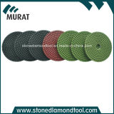 Diamond Concrete Floor Polishing Pad Use to Manual Machine