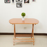 Bamboo Table Folding Table Garden Round Table Dining Table Wholesale