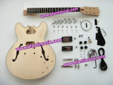 Hot! Hollow Body DIY Guitr Kit / Guitar (AES335)