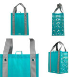 Custom Logo Personalized Reusable Waterproof Non-Woven Grocery Shopping Bag