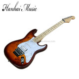 Hanhai Music / St Style Electric Guitar with White Pickguard