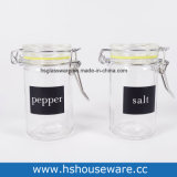 Mini Clear Glass Seal Containers