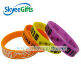 Half Inch Silicone Bracelets 2016 Corporate Promotional Gifts Holiday Gifts
