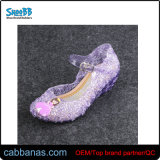Fashion Style Strap Close Toe Outdoor Party Office Jelly Wedge Slippers for Womens Ladies