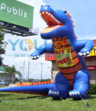 Orange and Blue Gator Inflatable Advertising Balloon Giant Promotions