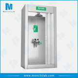 Stainless Steel Combination Emergency Shower & Eye Wash Room