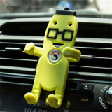 Sy02-01-006 Man Shape Soft Silicone Cell Phone Car Holder
