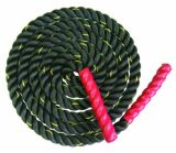Black Polyester Fibre Training Battle Rope