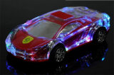 Colorful Lights Transparent Crystal Lamborghini Car Wireless Bluetooth Speaker
