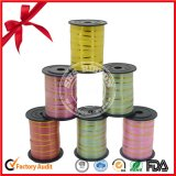Double Face Holographic Holiday Decoration Ribbon Roll