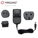 Factory 5W/6W/8W/10W/12W Travel Adapter (changeable AC plug) with TUV/RoHS/UL/ISO9001/CCC