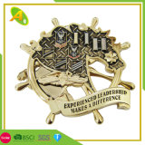 Wholesale Custom Zinc Alloy Metal Decoration Gifts Enamel Coin Pin Badge (109)