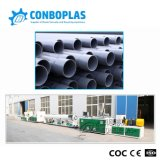 Plastic Extrude Twin Double Screw PVC Sewer Drainage Pipe Extrusion Line