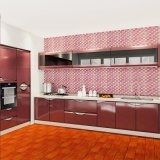 Lacquer High Gloss Ready Made MDF Modular Cheap China Simple Design Modern Kitchen Cabinet