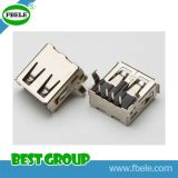 Fb1394-4-102 IEEE 1394/4p/Receptacle/DIP 90 USB Connector