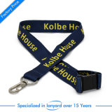 High Quality Customized Neck Lanyard Gift Roll Ribbon Swivel Hook