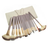 18PCS/Set Wholesale Makeup Brushes Wooden Handle Synthetic Hair Cosmetic Brush Set